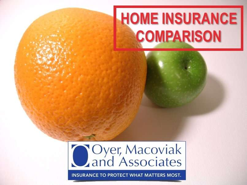 Home Insurance Comparison: What to Look for