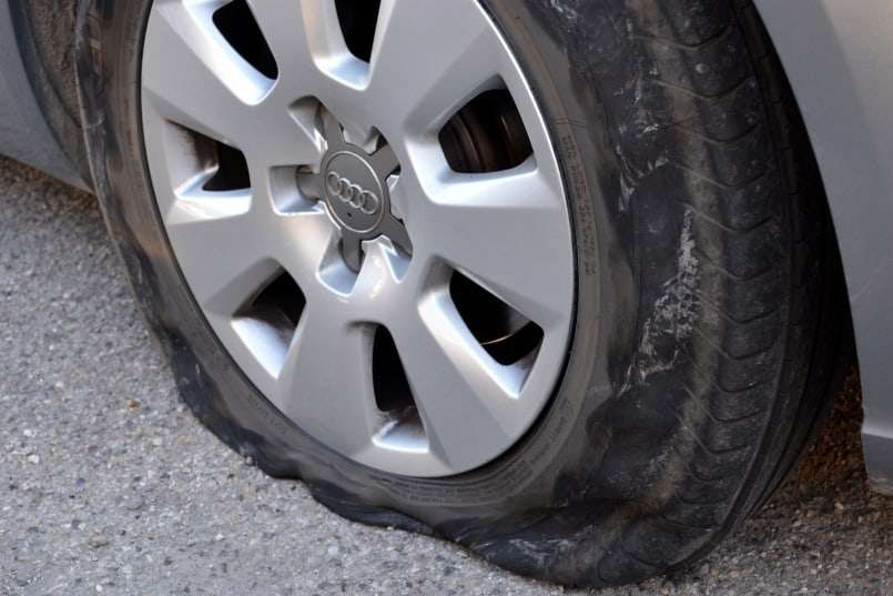 Tire Blowout Auto Insurance Claims