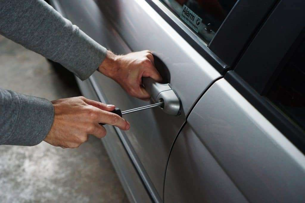 Average car insurance What to do when your car is stolen