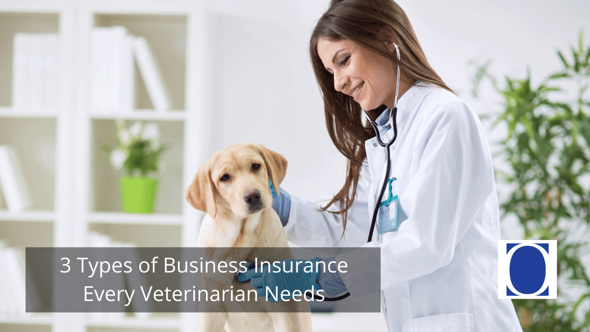 3 Types of Business Insurance Every Veterinarian Needs