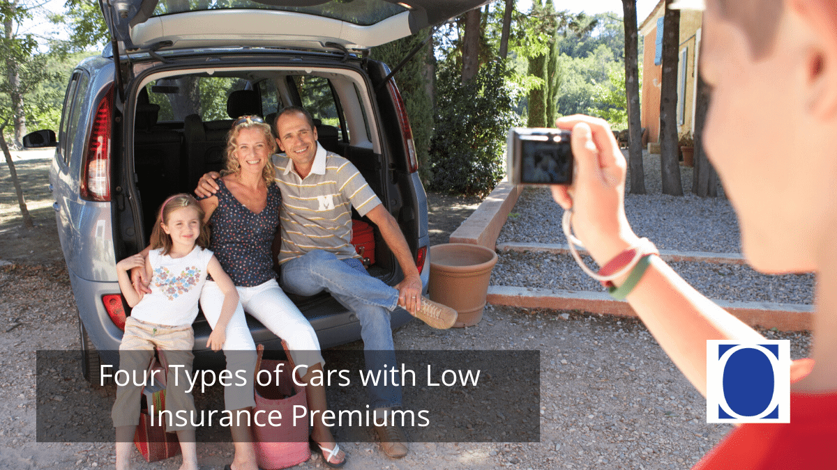 Four Types of Cars with Low Insurance Premiums